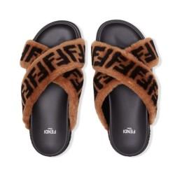 Fendi Sable slippers for women #99900069