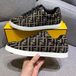 2019 Fendi shoes for Men's Fendi original AAAA quality Sneakers (2 colors) #9124740
