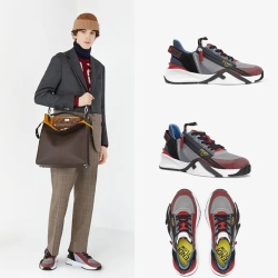 Fendi shoes for Men's Fendi Sneakers #99912238