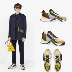 Fendi shoes for Men's Fendi Sneakers #99912239