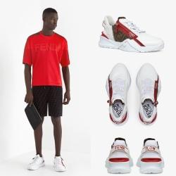Fendi shoes for Men's Fendi Sneakers #99912241