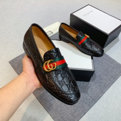 GUCCI Men Leather shoes  Loafers #9130688