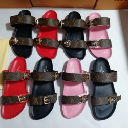 Louis Vuitton Leather sandals LV Leather Slippers for Women and Men #99897362