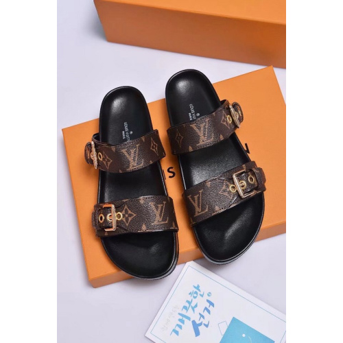 Louis Vuitton Shoes for Women's Louis Vuitton Slippers #9102581