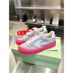 OFF WHITE Suede leather shoes for Men and women sneakers #99901052