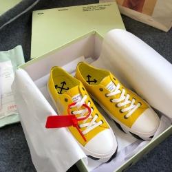 OFF WHITE canvas shoes plimsolls for Men's Women's Sneakers #99901065