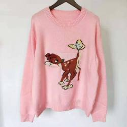 Gucci Fawn knitted sweater for Women #99900176