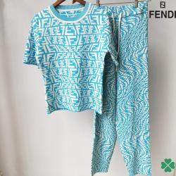 Brand FENDI new 2021 tracksuit for women #99911647