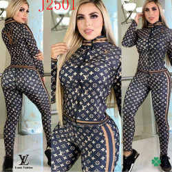 Brand L new 2021 tracksuit for women #99910509
