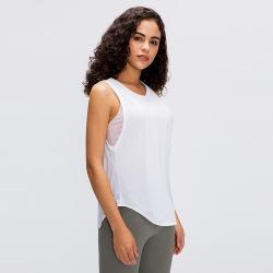 Merillat 2021 new fashion strap breathable sleeveless blouse yoga vest T-shirt #99910187