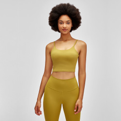 Merillat 2021 new sexy beautiful back yoga tops, sling yoga clothes, women with chest pads #99910189